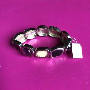 Retired Lia Sophia Milky Way Stretchy Bracelet